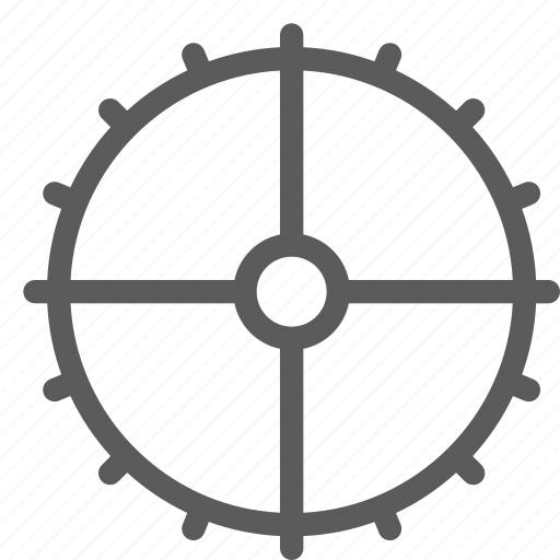 car, fix, gear, mechanic, repair, technician icon