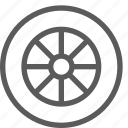 car, fix, mechanic, repair, technician, wheel icon