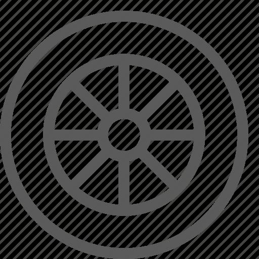 car, fix, mechanic, repair, technician, wheel icon