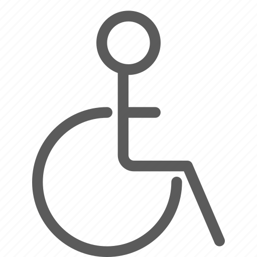 disabled, doctor, heal, health, hospital, medical, wheelchair icon