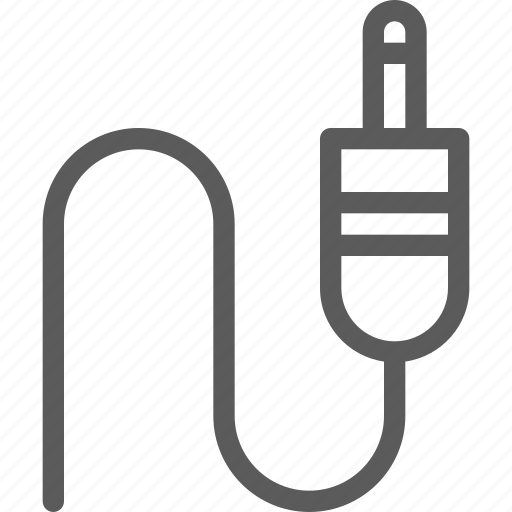 audio, jack, melody, music, song, sound icon