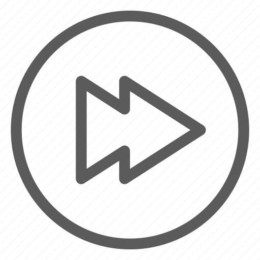 audio, forward, melody, music, song, sound icon