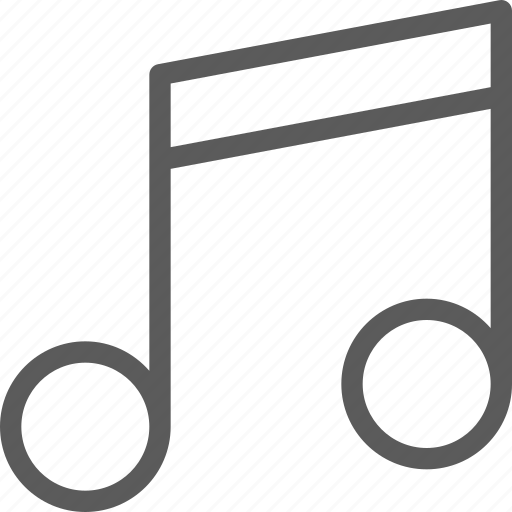 audio, melody, music, note, song, sound icon