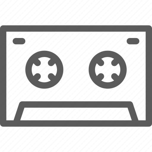 audio, cassete, melody, music, old, song, sound icon