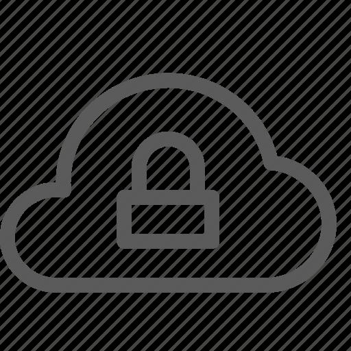 cloud, data, net, network, secure, server, web icon