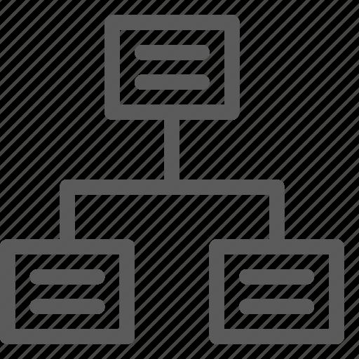 communication, data, hub, net, network, server, web icon