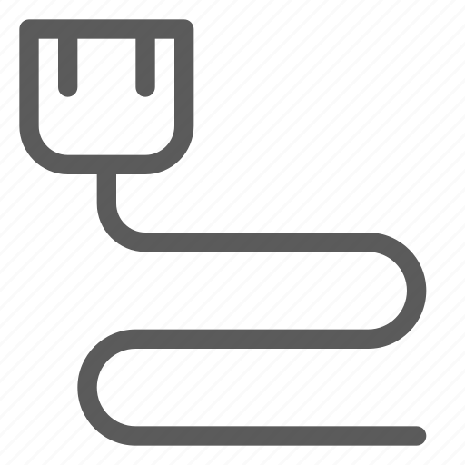 cable, connection, data, net, network, server, web icon