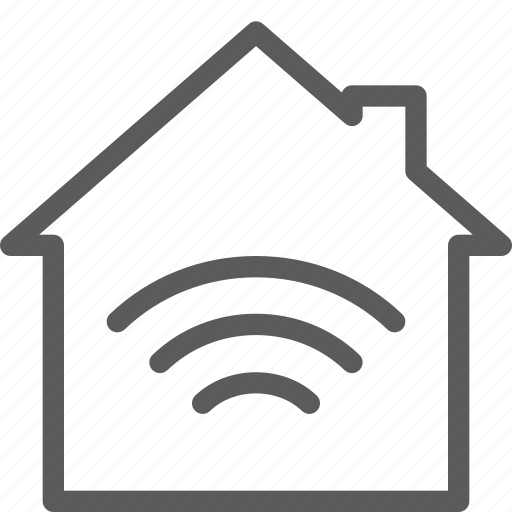 connection, home, net, network, server, web, wireless icon
