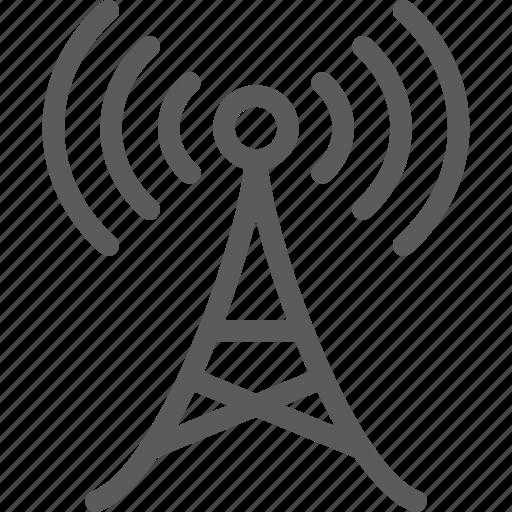antena, data, main, net, network, server, web icon