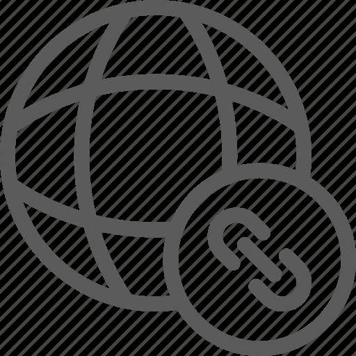 data, links, net, network, server, web icon