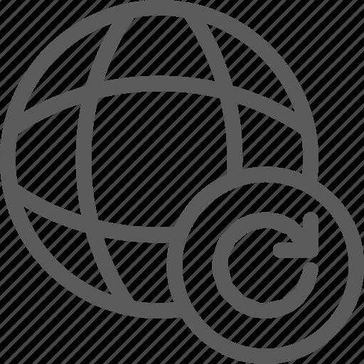data, net, network, refresh, server, web icon