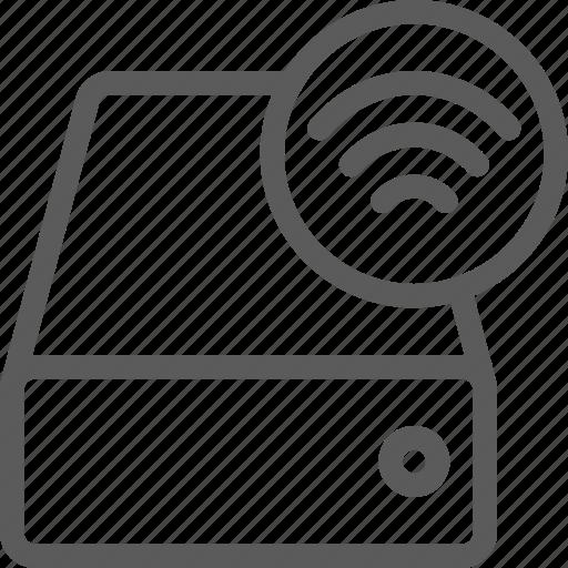 drive, net, network, server, web, wifi icon