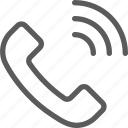 call, communication, contact, phone, smartphone, talk icon
