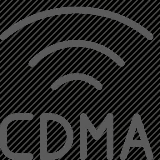 call, cdma, communication, contact, phone, signal, smartphone icon
