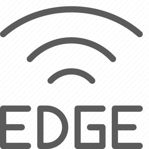 call, communication, contact, edge, phone, signal, smartphone icon