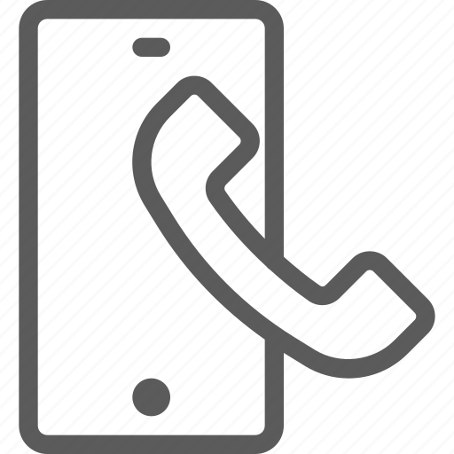 call, communication, contact, phone, smartphone icon