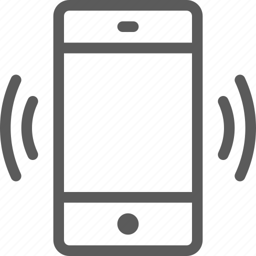 call, communication, contact, phone, ringing, smartphone icon