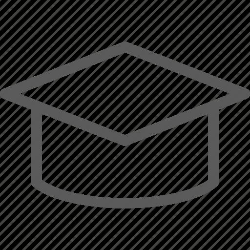 academic, cap, education, learn, school, science icon