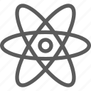 atom, education, learn, school, science icon