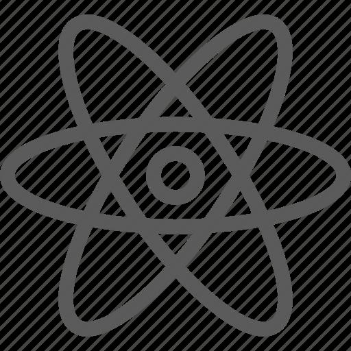 atom, education, learn, school, science icon