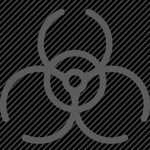 biohazard, education, learn, school, science icon
