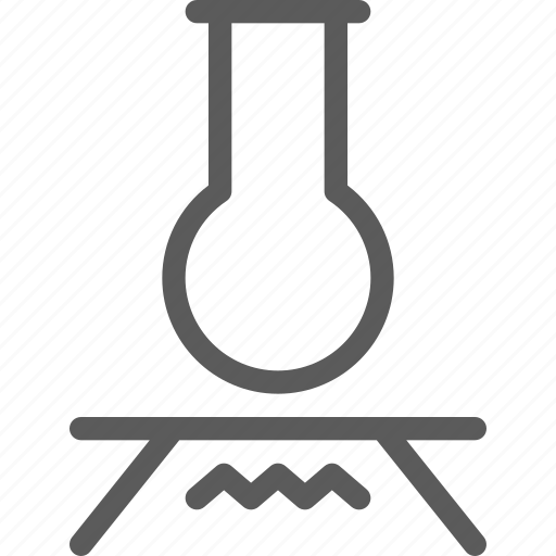 education, experiment, learn, school, science icon