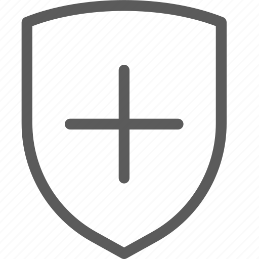 add, guard, insurance, safe, security, shield, surveillance icon