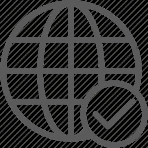 confirm, guard, insurance, network, safe, security, surveillance icon