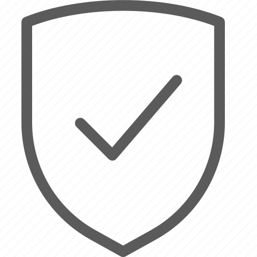 confirm, guard, insurance, safe, security, shield, surveillance icon
