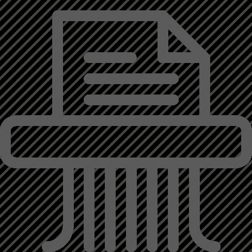 document, guard, insurance, safe, security, shredder, surveillance icon