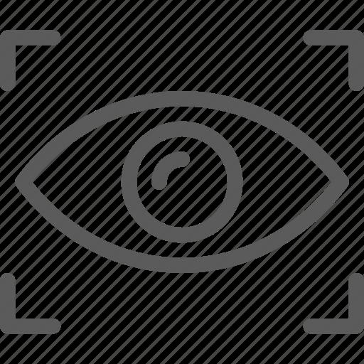 detection, eye, guard, insurance, safe, security, surveillance icon