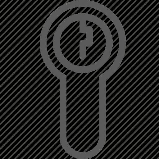 guard, hole, insurance, lockpad, safe, security, surveillance icon