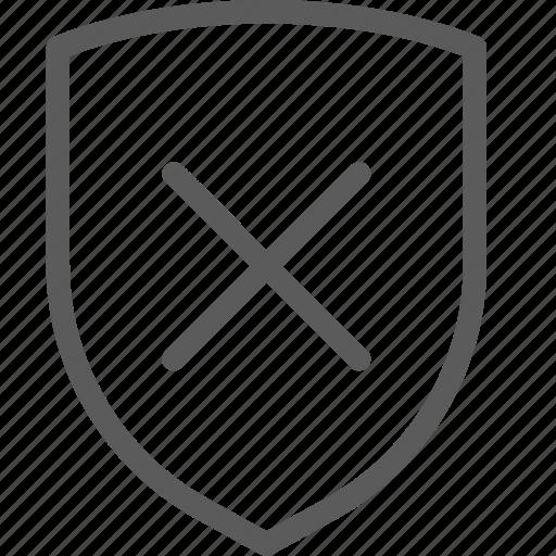 guard, insurance, remove, safe, security, shield, surveillance icon