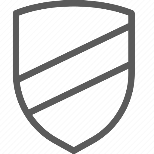guard, insurance, safe, security, shield, stripes, surveillance icon