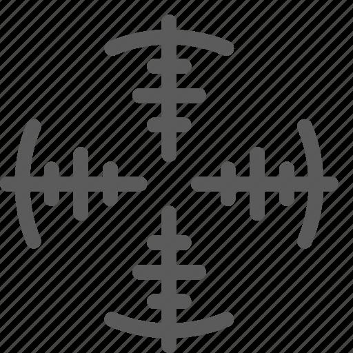 guard, insurance, safe, security, sniper, surveillance, targer icon