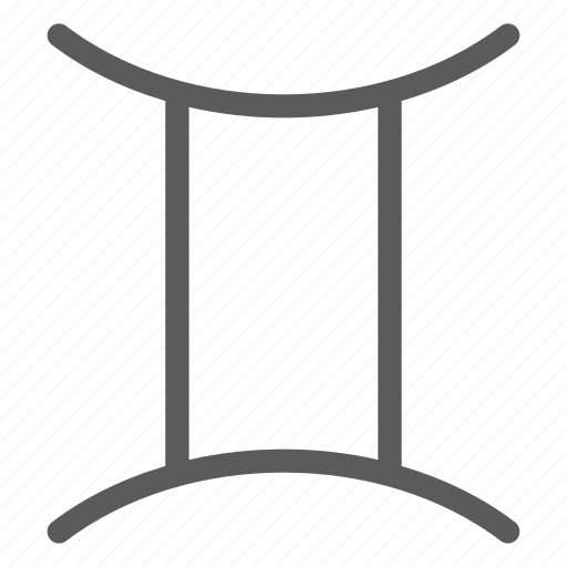 astrology, gemini, horoscope, science, space, universe icon