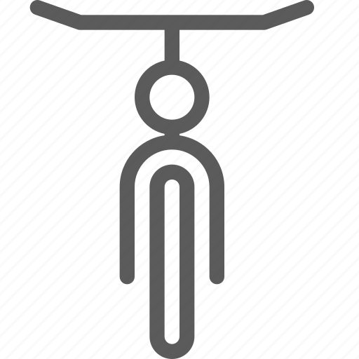 bicycle, carrier, shipping, transit, transport, travel icon