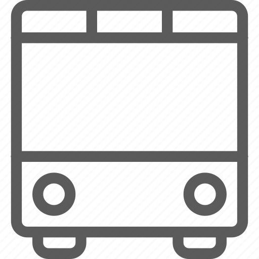 bus, carrier, shipping, transit, transport, travel icon