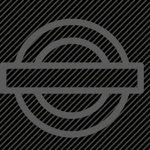 carrier, metro, shipping, sign, transit, transport, travel icon