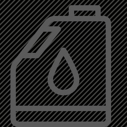 bottle, carrier, oil, shipping, transit, transport, travel icon