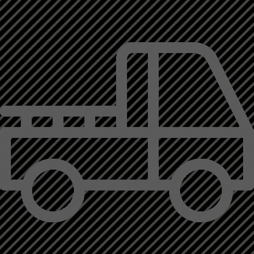 carrier, pickup, shipping, transit, transport, travel icon