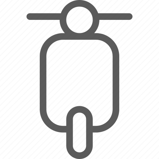 bike, carrier, shipping, small, transit, transport, travel icon