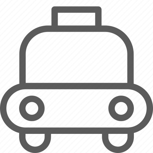 carrier, shipping, taxi, transit, transport, travel icon