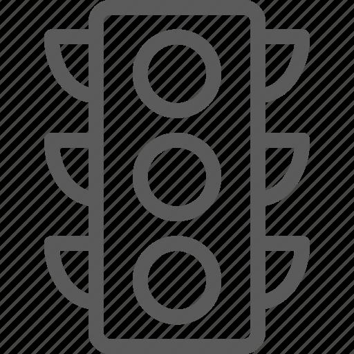 carrier, light, shipping, traffic, transit, transport, travel icon