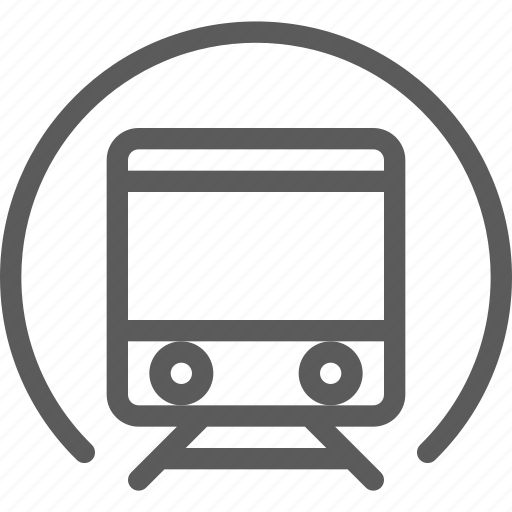 carrier, shipping, train, transit, transport, travel, tunnel icon