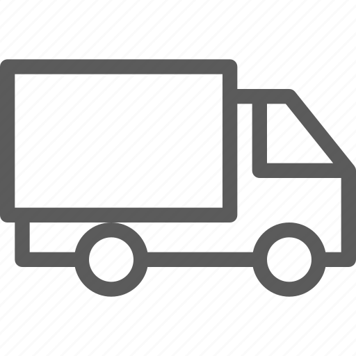 carrier, shipping, transit, transport, travel, truck icon