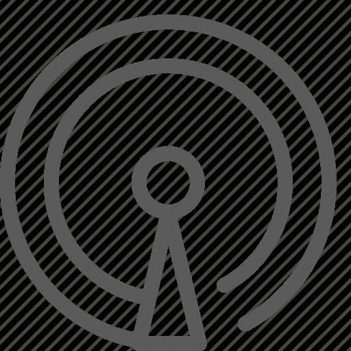 antena, interaction, interface, signal, technology, ui, user icon