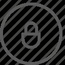 interaction, interface, lock, lockpad, technology, ui, user icon