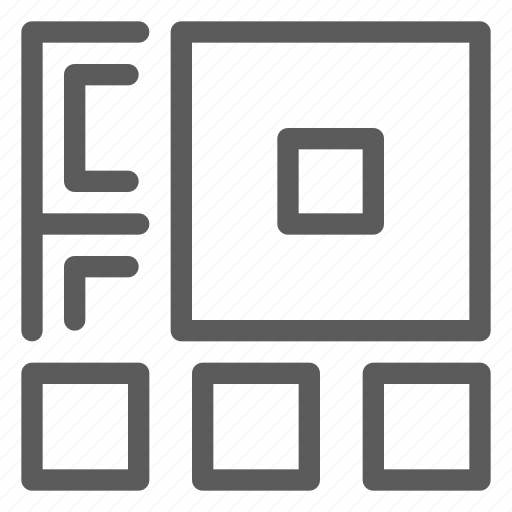 code, interaction, interface, qr, technology, ui, user icon
