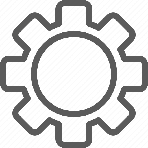 gear, interaction, interface, settings, technology, ui, user icon